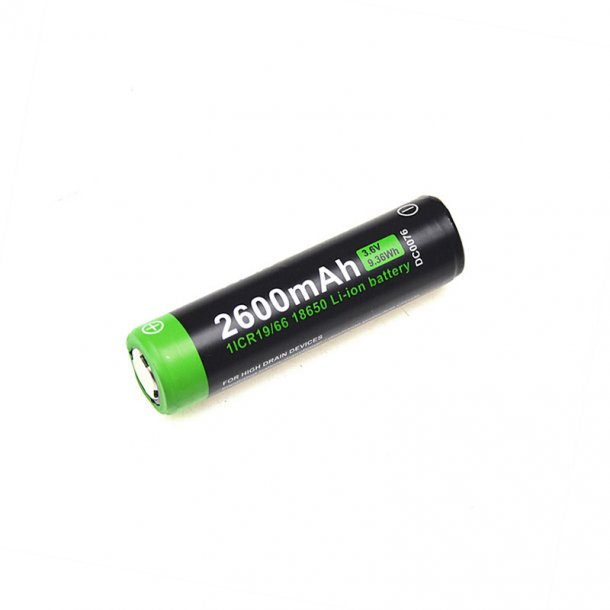 NEXTORCH18650 batteri