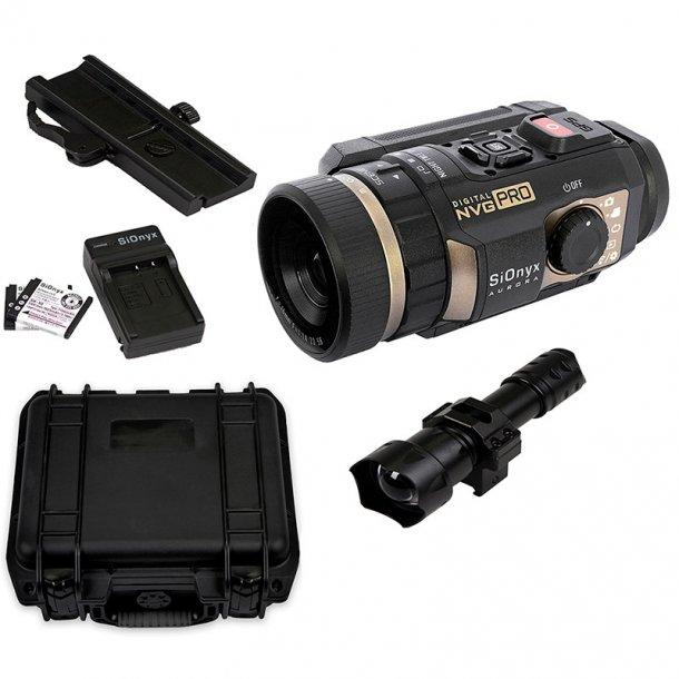 SiOnyx Aurora PRO Digital nattkikare och Explorer Kit