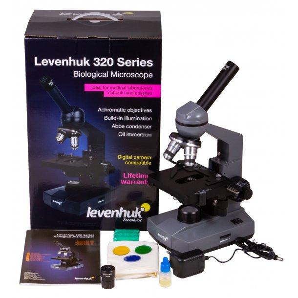 Levenhuk Mono Biologi Mikroskop, 40-1600x