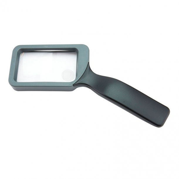 Carson rektangulær læseglas, 85 mm