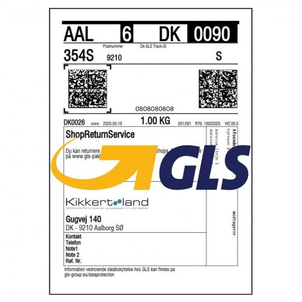 GLS returlabel Danmark