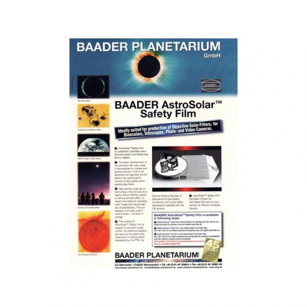 Baader Solfilter - A4 ark