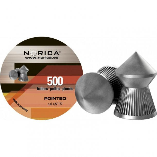 Norica Pointed hagl, 4.5mm